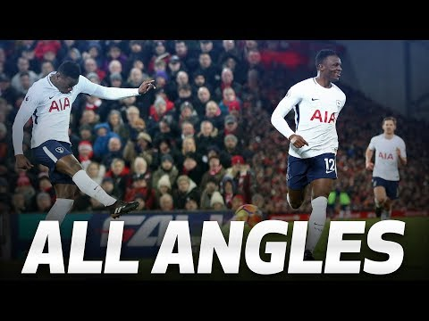 ALL ANGLES | VICTOR WANYAMA'S LIVERPOOL ROCKET