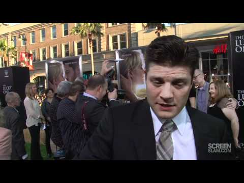 The Lucky One: Los Angeles Premiere Jay R. Ferguson Interview [HD]