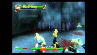 Mortal Kombat Shaolin Monks - Shang Tsung Gameplay - by ennohex
