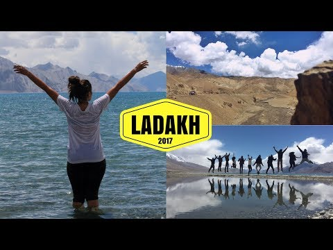 Leh Ladakh - Vlog 2017 | Diving in Pangong Lake | Forum Shah