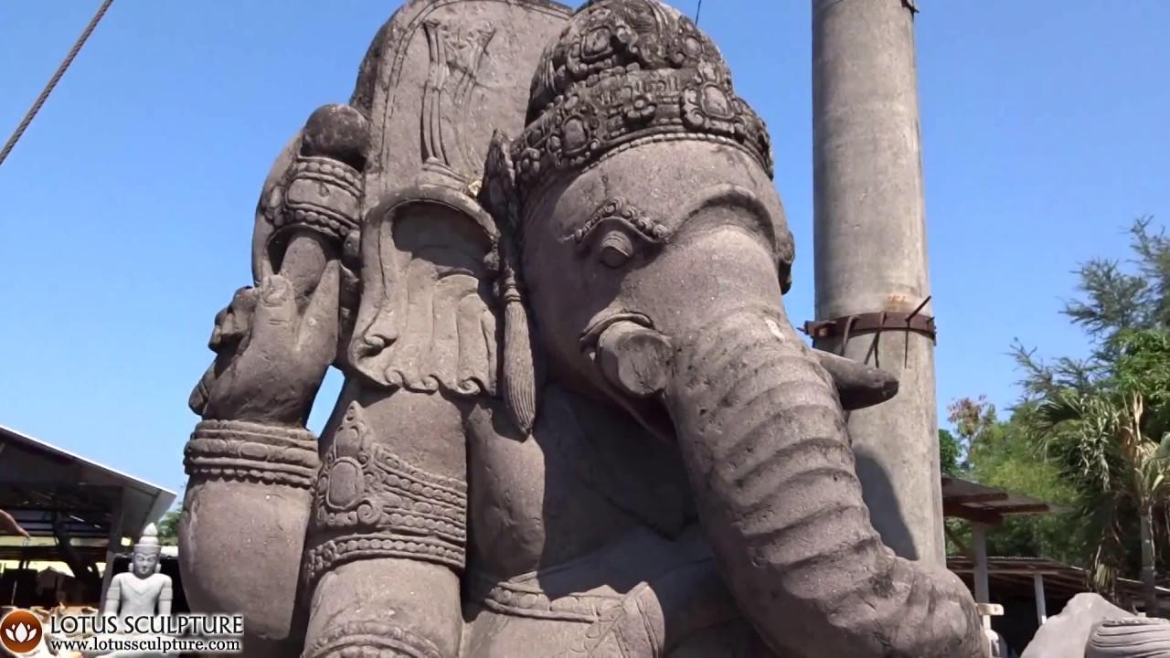Enormous stone garden ganesh statue large ganesh www.lotussculpture