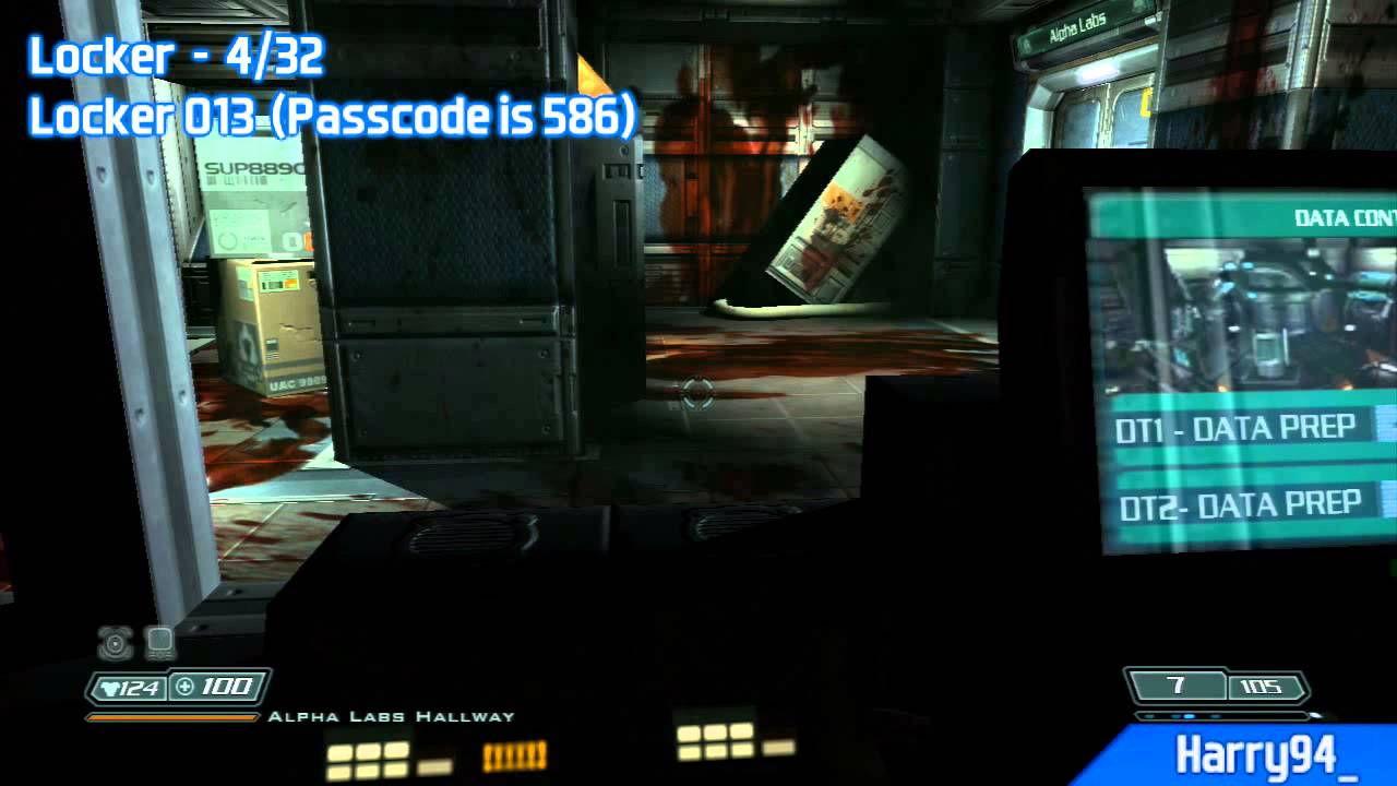 Doom 3 Bfg Edition All Pda Lockers Video Locations Uac Administration