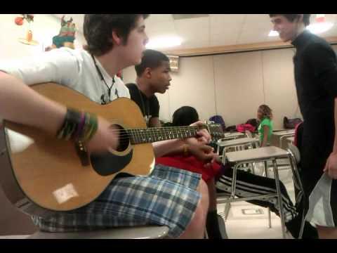 Brandon Hurst Singing and Playing Guitar 3