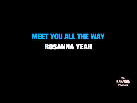 "Rosanna in the Style of ""Toto"" karaoke video with lyrics (no lead vocal)"