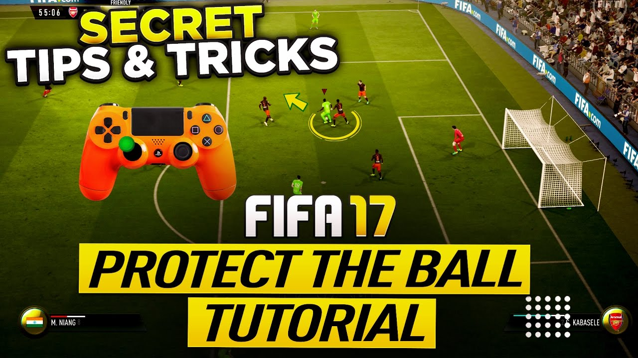 Fifa 17 Protect The Ball Tutorial Secret Push Back Tech Tips