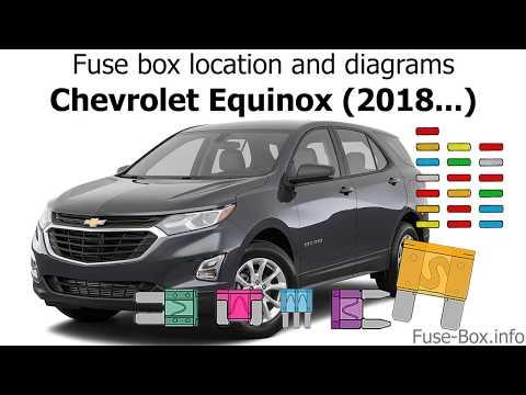 2005 chevrolet equinox fuse box diagram fuse box location and diagrams chevrolet equinox  2018   youtube  fuse box location and diagrams