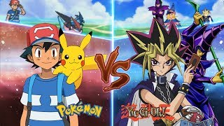 Pokemon Crossover Anime: Ash Vs Yugi Muto (Pokemon Vs Yugioh)