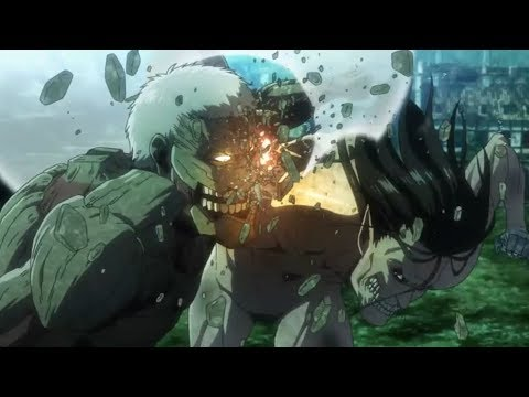 Attack on Titan Season 3 Part 2 Ep 2「AMV」Sick Of It All 【Eren vs Reiner Full Fight】