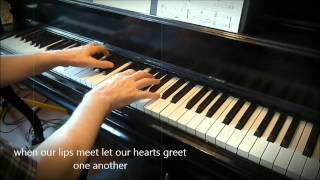Begin to love ( Cominciamo ad amarci).   Piano et arrangements: André Caron