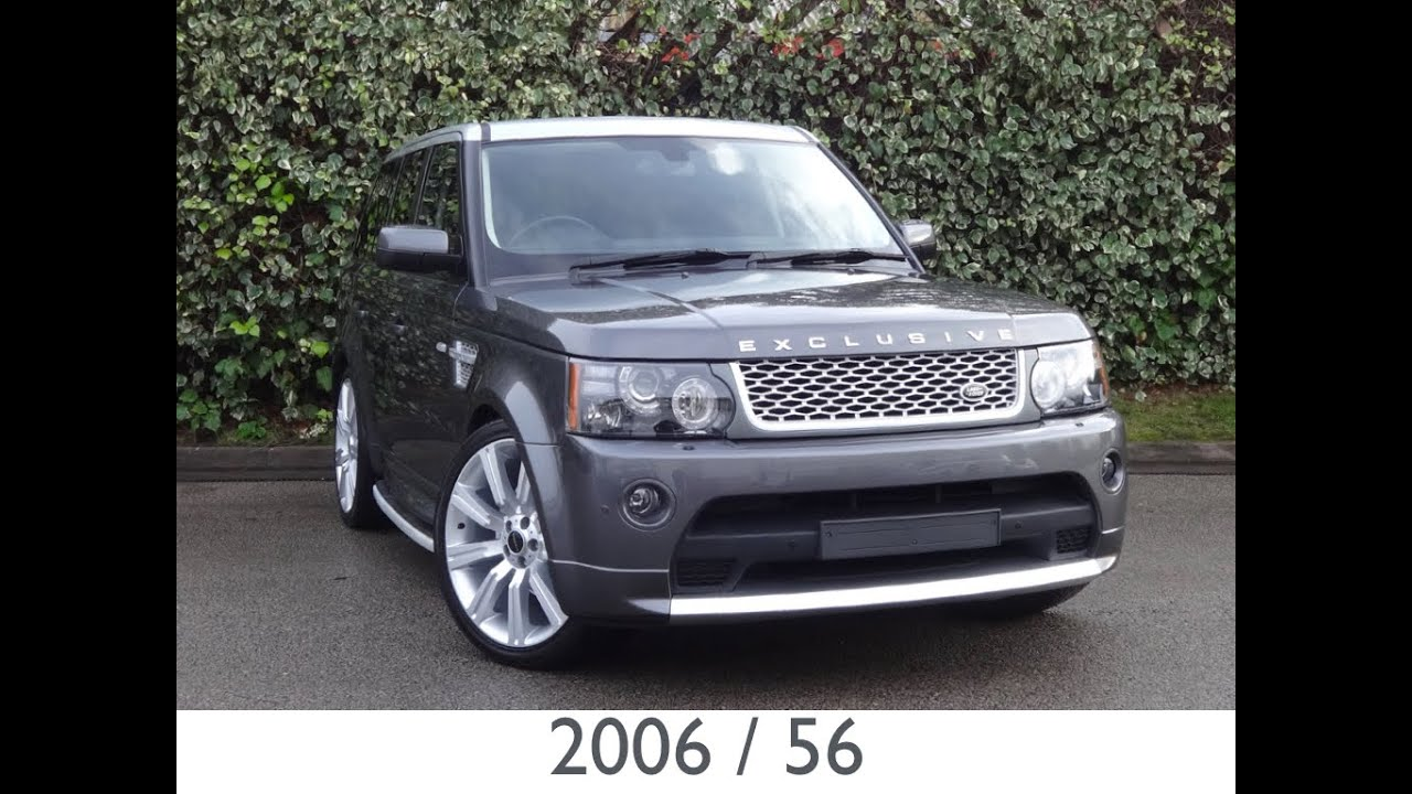 2006 range rover sport bonatti grey youtube. Black Bedroom Furniture Sets. Home Design Ideas