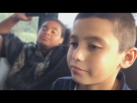 Middle Schoolers Roast Eachother on The School Bus