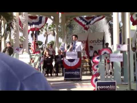 Marco Rubio On FBI Investigations Punta Gorda, FL 11:1:16