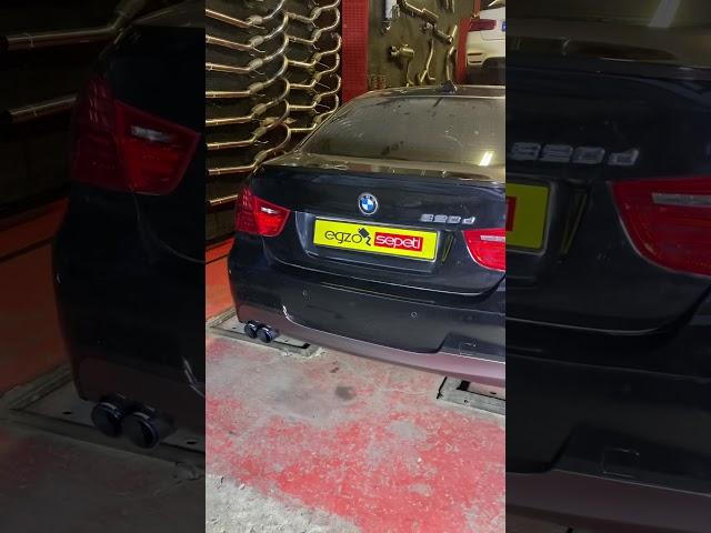 BMW E90 3.20 ARACIMIZA M TEKNİK BODY KİT VE AKRAPOVİC EGZOZ UCU