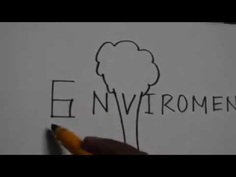 Easy Drawing With Environment Youtube