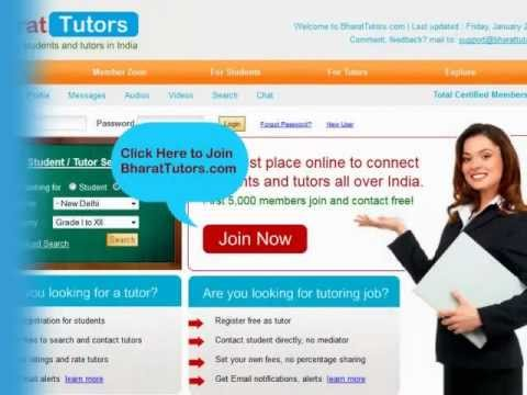 BharatTutors.com, connecting students and tutors in India