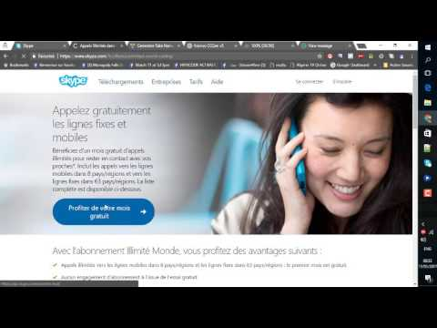 HOW TO GET FREE UNLIMITEED1MONTH CALLS WITH SKYPE +PROOF