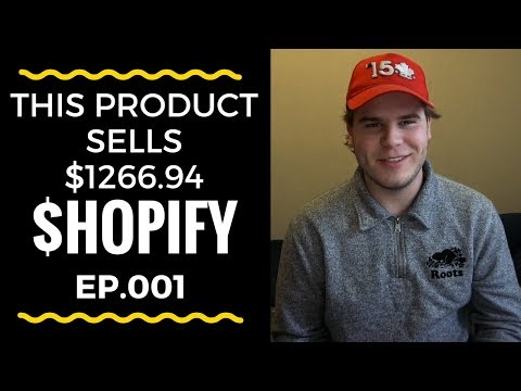 $1266.94 IN 14 HOURS HERES WHAT I DID (Steps) - Shopify Dropshipping thumbnail