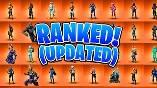 Ranking ALL 41 Legendary Fortnite Skins! (Fortnite Battle Royale All Skins Ranked)