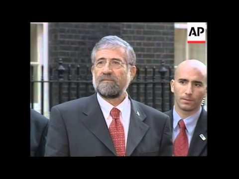 WRAP Israeli Labour Party Leader Meets British PM, Comments