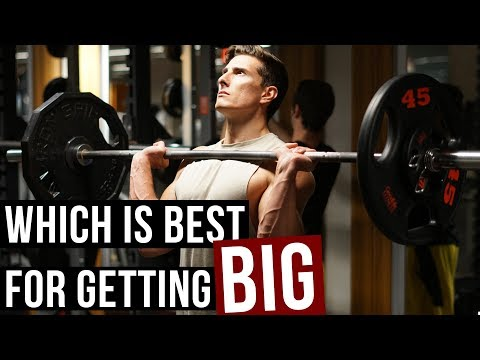 Low Reps Heavy Weight Or High Reps Light Weight?!
