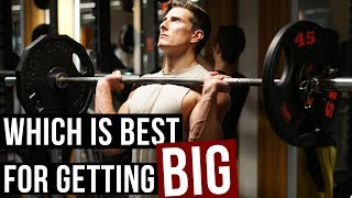 Low Reps Heavy Weight Or High Reps Light Weight?! thumbnail