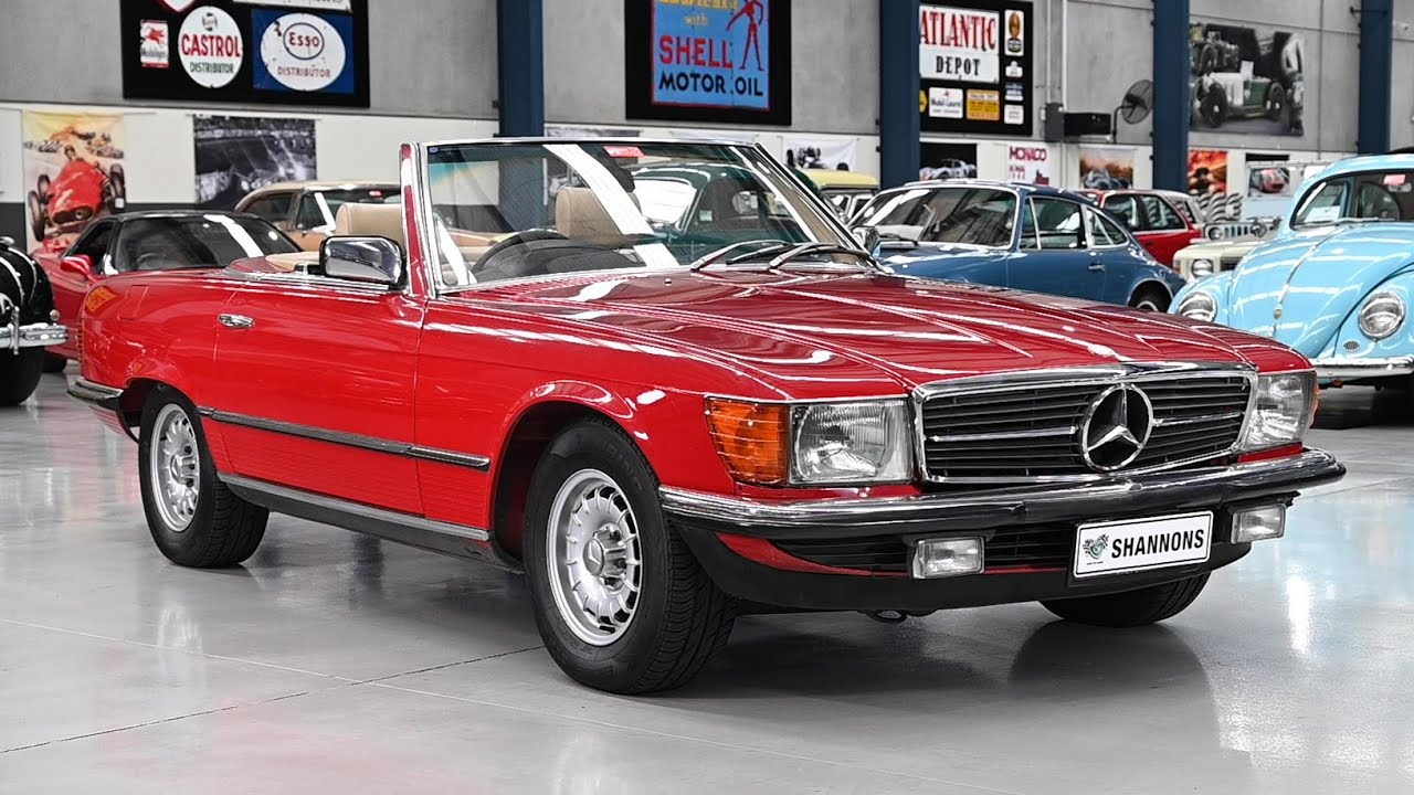 1982 Mercedes-Benz 380SL Convertible - 2020 Shannons Winter Timed Online Auction