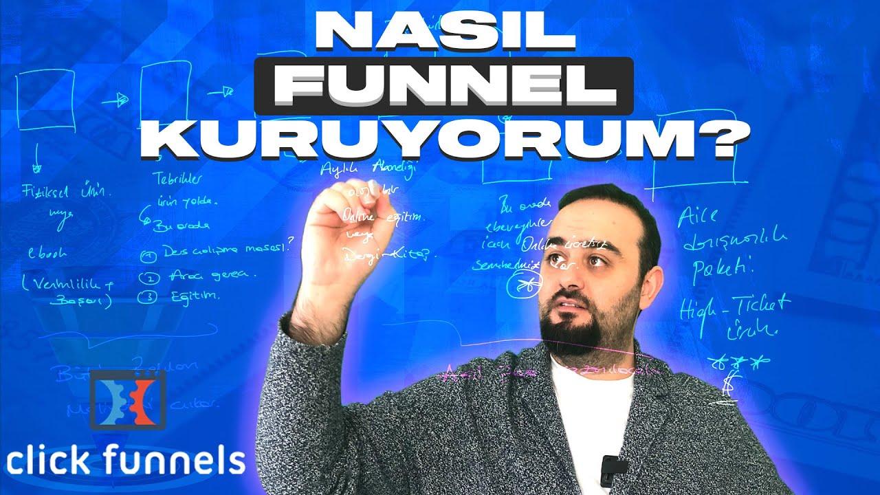 Funnel Nedir? Funnel Adam Fatih Çoban Nasıl Funnel Kuruyor !!