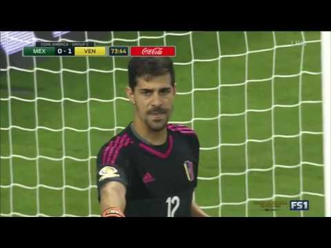 Мексика - Венесуэла 1:1 видео