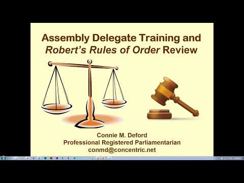 Roberts Rules: 2017 ABA Law Student Division