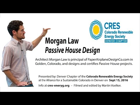 Why a Hair Dryer Can Heat Your Passive House - Morgan Law, architect