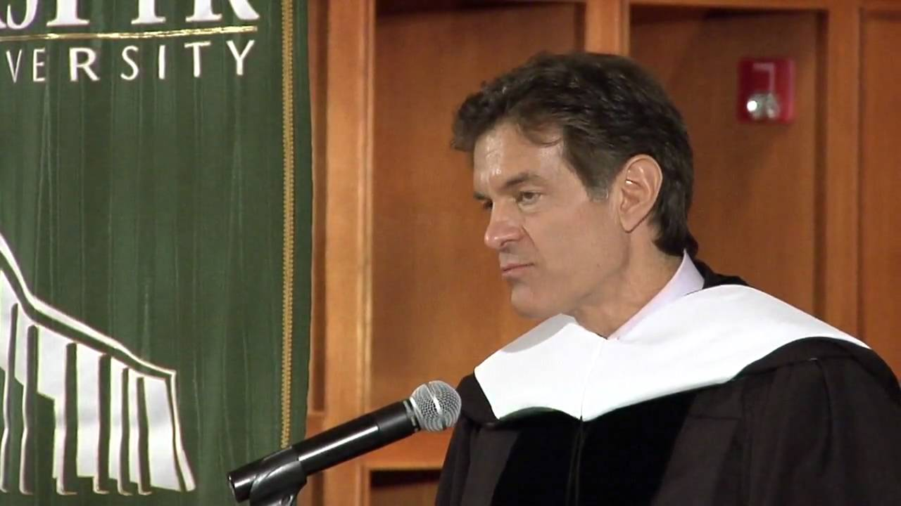 Dr. Mehmet Oz accepts honorary degree from Bastyr University ...