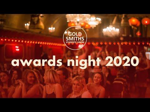 Goldsmiths Students' Union – Awards Night 2020