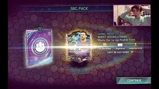 FIFA MOBILE *MESSI* IN A PACK!!! EASY Challenge to Unlock Messi!! Squad Building w/ Gameplay! | FIFA