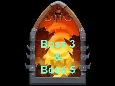 Castle Clash - Boss 3 & 5 - 14/03/17
