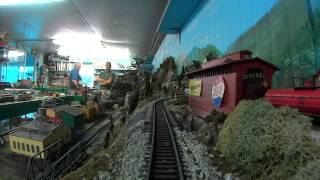 Al Fraser Private Model Railroad