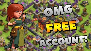 How To Get Free Th11/10 Max Accounts In Clash Of Clans || 100% WORKING TRICK!!! || ANDROID!!