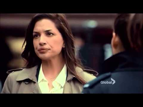 Rookie Blue 5x10  Sam and Andy chat with Marlo