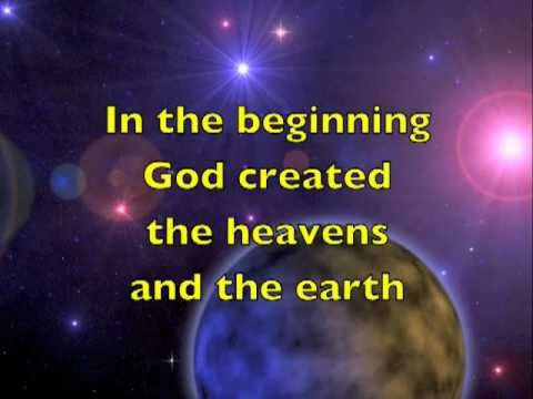 Creation - In the Beginning