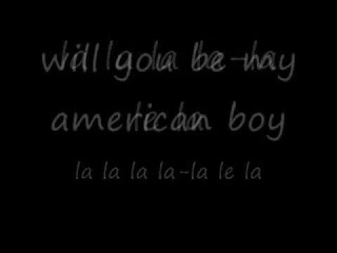 american boy lyrics