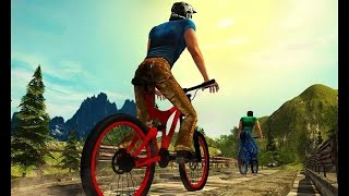 Uphill Offroad BICYCLE RIDER - Simulation Games | Free Cycle Game - MotorCycle Wala Game