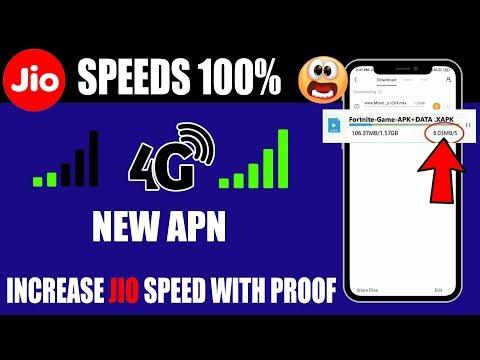 Jio New Apn Setting August 2019 | How To Increase Jio Internet Speed