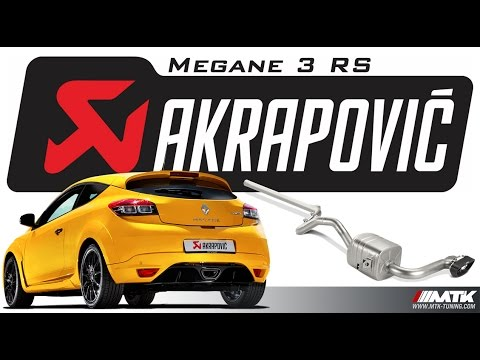 akrapovic renault megane 3 rs ligne chappement evolution line mtk tuning youtube. Black Bedroom Furniture Sets. Home Design Ideas