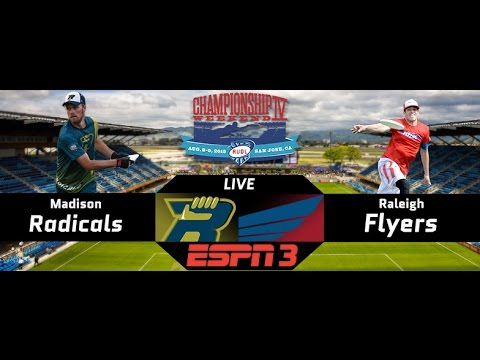 AUDL Championship Weekend IV   Semis 1   Raleigh Flyers vs. Madison Radicals [2015]