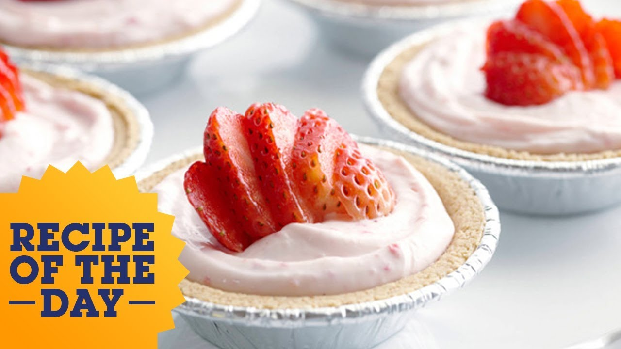 Recipe of the day rachaels individual no bake strawberry recipe of the day rachaels individual no bake strawberry cheesecakes food network forumfinder Choice Image