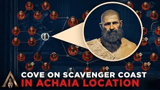 How to Find the Cove on Scavenger Coast in Achaia (Cultist Clue Location) - Assassin's Creed Odyssey