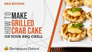 Grilled Crab Cakes With Bad Byron's Butt Rub Sauce