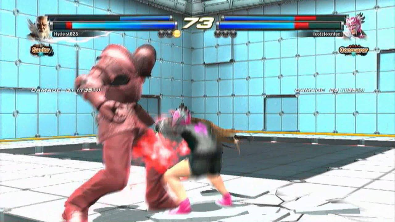 Tekken Tag Tournament 2: Hydeist623 (Jinpachi/Kazuya) vs ...