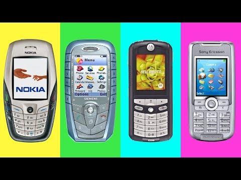 Самые легендарные телефоны начала 2000-х