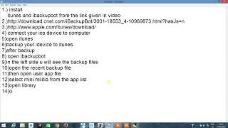Repeat youtube video how to hack mini militia no jailbreak required
