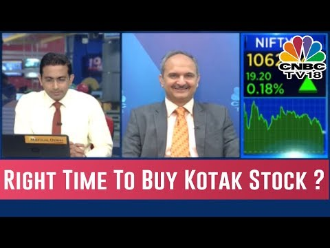 Kotak Stock Is Up By 10%, Right Time To Buy ?